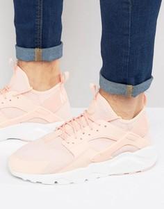 Розовые кроссовки для бега Nike Huarache 833147-801 - Розовый