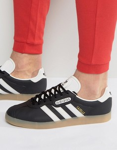 Черные кроссовки adidas Originals Gazelle Super BB5244 - Черный