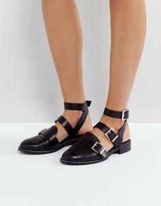 Туфли на плоской подошве ASOS MOONLIGHT - Черный