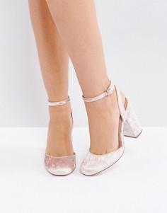 Туфли на высоком каблуке ASOS PRECISION - Розовый