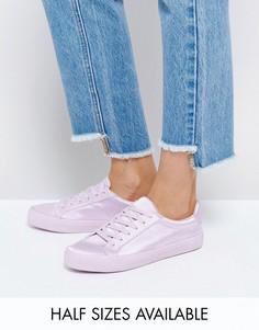 Кроссовки на шнуровке ASOS DAREY - Фиолетовый