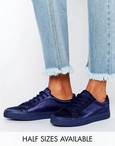 Кроссовки на шнуровке ASOS DAREY - Темно-синий