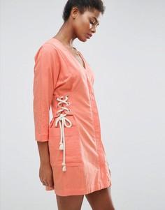 Повседневное платье ASOS - Оранжевый