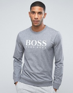 Свитшот с круглым вырезом BOSS by Hugo Boss - Серый