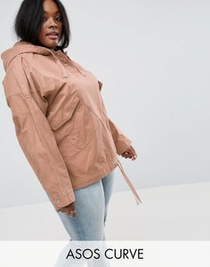 Куртка ASOS CURVE - Светло-серый
