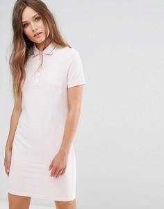 Платье-поло с окантовкой J.D.Y - Фиолетовый JDY