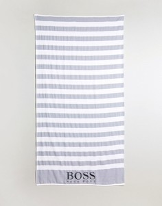 Пляжное полотенце в полоску BOSS By Hugo Boss - Мульти