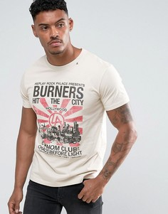 Футболка Replay Burners - Белый