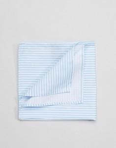 Платок для пиджака в полоску Selected Homme - Синий