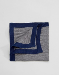Трикотажный платок для пиджака Selected Homme - Серый