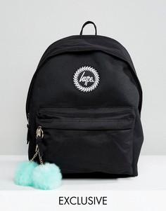 Черный рюкзак с помпоном эксклюзивно для Hype - Черный