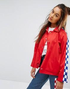 Спортивная куртка в клетку The Ragged Priest - Красный