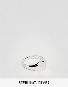 Серебряное кольцо-печатка DesignB эксклюзивно для ASOS - Серебряный