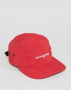 5-панельная кепка с логотипом Billionaire Boys Club - Красный
