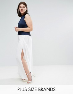Белые брюки-палаццо Elvi - Белый