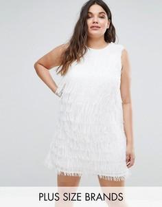 Белое платье Elvi - Белый