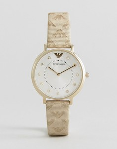 Часы с логотипом Emporio Armani - Золотой