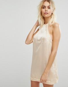 Платье-комбинация Y.A.S - Бежевый