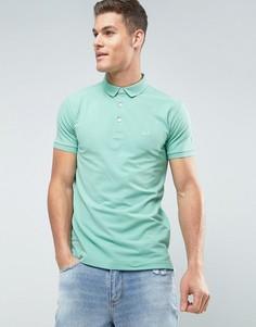 Эластичная футболка-поло с логотипом Lindbergh - Зеленый