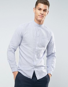Рубашка с воротником на пуговицах Lindbergh - Синий