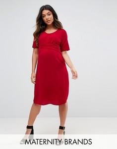 Платье Mamalicious - Красный Mama.Licious