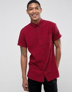 Рубашка с короткими рукавами Jack & Jones - Красный