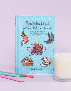 Книга Mindfulness and Colouring For Cats - Мульти Books