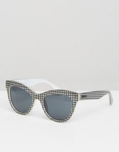 Солнцезащитные очки кошачий глаз Minkpink - Черный