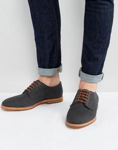 Парусиновые туфли на шнурках Hudson London - Темно-синий