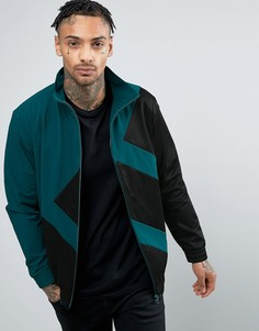 Зеленая спортивная куртка adidas Originals Berlin BK7209 - Зеленый
