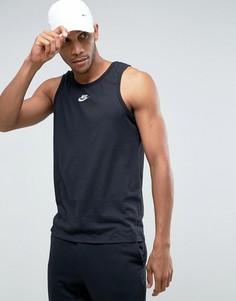 Черная майка Nike Cortez 884286-010 - Черный