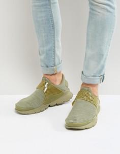 Дышащие зеленые кроссовки с манжетами Nike 909551-200 - Зеленый