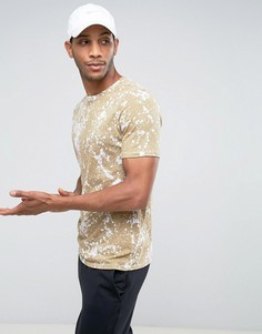 Бежевая футболка Nike 834620-101 - Бежевый