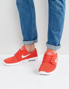 Красные кроссовки Nike SB Stefan Janoski 631303-611 - Красный