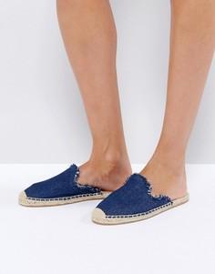 Джинсовые сандалии Soludos - Темно-синий