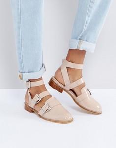 Туфли на плоской подошве ASOS MOONLIGHT - Бежевый