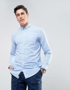 Рубашка с добавлением льна Produkt - Синий