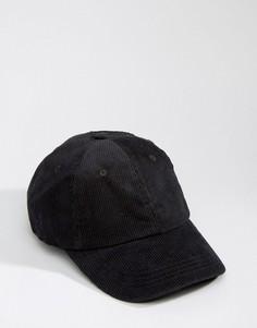 Вельветовая бейсболка Dead Vintage - Черный