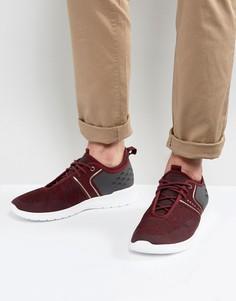 Темно-красные сетчатые кроссовки BOSS Green by Hugo Boss - Красный