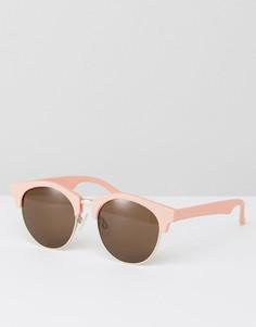 Круглые солнцезащитные очки AJ Morgan - Розовый