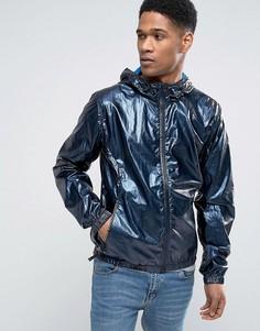 Темно-синяя куртка с капюшоном Tommy Hilfiger Denim - Темно-синий