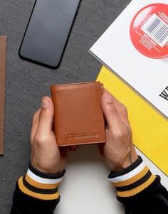 Бумажник с отделением для монет и карт Lambretta - Рыжий