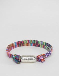 Плетеный браслет с ацтекским принтом Classics 77 - Мульти