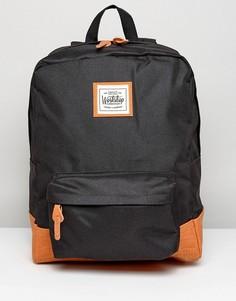 Черный рюкзак с контрастным основанием Artsac Workshop - Черный