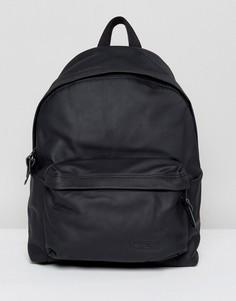 Уплотненный кожаный рюкзак Eastpak PakR - 24 л - Черный
