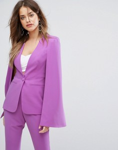 Пиджак-кейп Lavish Alice - Фиолетовый