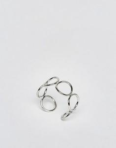 Незамкнутое кольцо ограниченной серии - Серебряный Asos