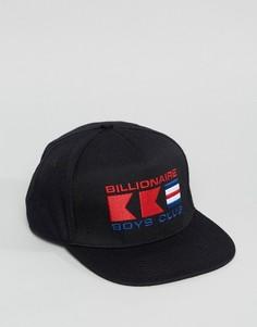 Бейсболка с логотипом Billionaire Boys Club - Черный
