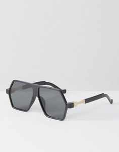 Черные солнцезащитные очки Jeepers Peepers - Черный