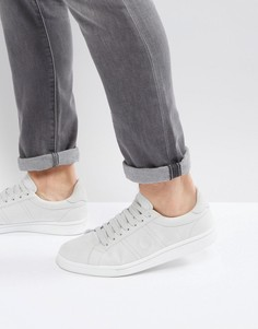 Серые хлопковые кроссовки Fred Perry B721 - Серый